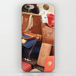 Women's Designer Handbags iPhone Skin