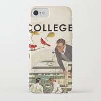college iPhone & iPod Cases featuring Welcome to... College by Heather Landis