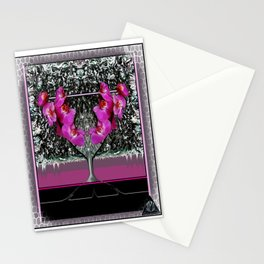 ORCHID MARTINI Stationery Cards