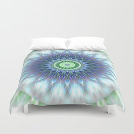 Light Mandala Duvet Cover
