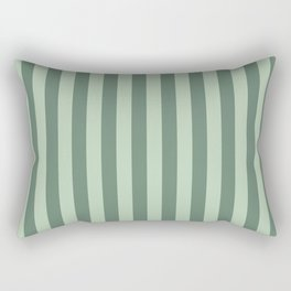 Big Green Rectangular Pillow