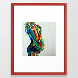 Vibrant Stillness Framed Art Print