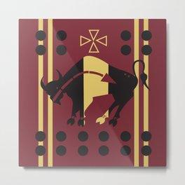 American Native Pattern No. 5 Metal Print