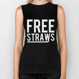 Free Straws Anti-Ban Biker Tank