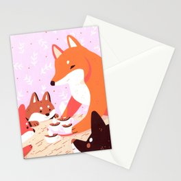 Hot Cocoa Stationery Cards
