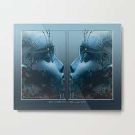 In-com-mu-ni-ca-do Metal Print