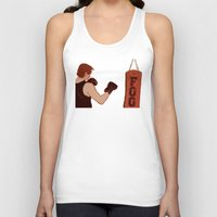 foo fighters Tank Tops featuring Foo Fighter by Kramcox