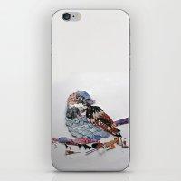 sparrow iPhone & iPod Skins featuring sparrow by Ruud van Koningsbrugge