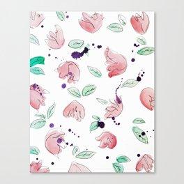 blazz studios: Spring Tulips Canvas Print