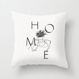 H O M E Throw Pillow
