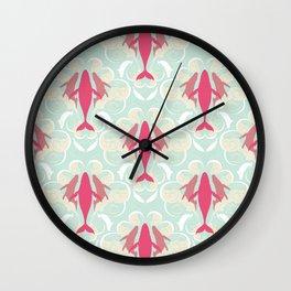 HumpBaroque Whale Wall Clock