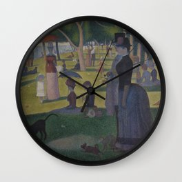 A Sunday on La Grande Jatte Wall Clock