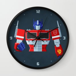Autobots, Roll out! (Optimus Prime) Wall Clock