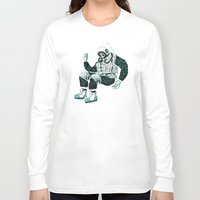 astronaut Long Sleeve T-shirts featuring Astronaut by BernardoMajer