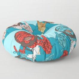 POSTMALONE - Toast Malone - Water Malone - Coast Malone Floor Pillow