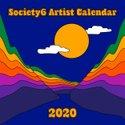2020 Artist Calendar / Wall Edition by society6