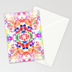 Floral Print - Brights Stationery Cards
