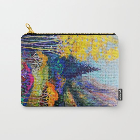 Mountain Aspen Trees  Landscape Carry-All Pouch
