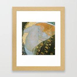 Danae, Gustav Klimt Framed Art Print