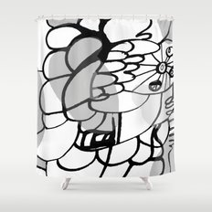 A Lot of Things Shower Curtain