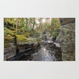Sturgeon River Canyon in Michigan's Upper Peninsula Rug