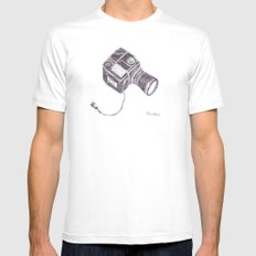 The Hasselblad Mens Fitted Tee White MEDIUM