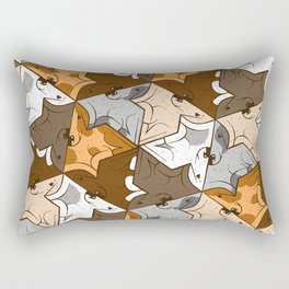 Happy puppies Rectangular Pillow