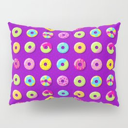 Donut Pattern Pillow Sham