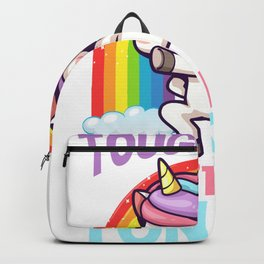Funny Tonsil Removal Unicorn Kid Tonsillectomy Backpack