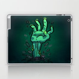 Cartoon Zombie Hand Laptop & iPad Skin