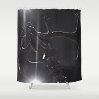 elk Shower Curtains featuring ELK by Danielle Fedorshik