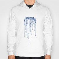 rain Hoodies featuring RAIN by Aneesh vini