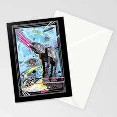 Battle of Hoth Stationery Cards
