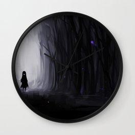 Dark Abyss Wall Clock