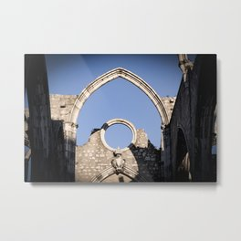 Carmo Ruins Surviving Arch Metal Print