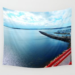 Souris PEI Lighthouse View Wall Tapestry