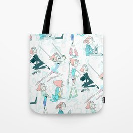 Pearl Pattern Tote Bag