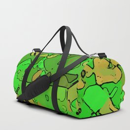 Abstract segmented 2 Duffle Bag