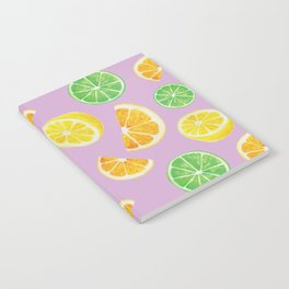 Citrus Pattern Notebook
