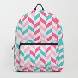 down arrow pattern Backpack