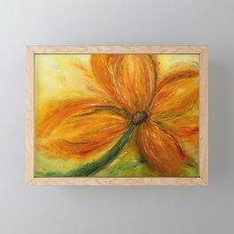 Summer Flower Framed Mini Art Print