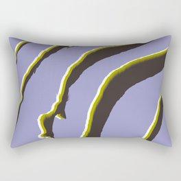Violet zebra print Rectangular Pillow