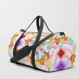 Beaux Arts Pink Waves Duffle Bag