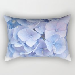 Blue Hydrangeas #3 #decor #art #society6 Rectangular Pillow