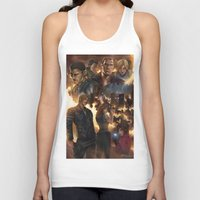 resident evil Tank Tops featuring Resident Evil 6 by Dr-Salvador