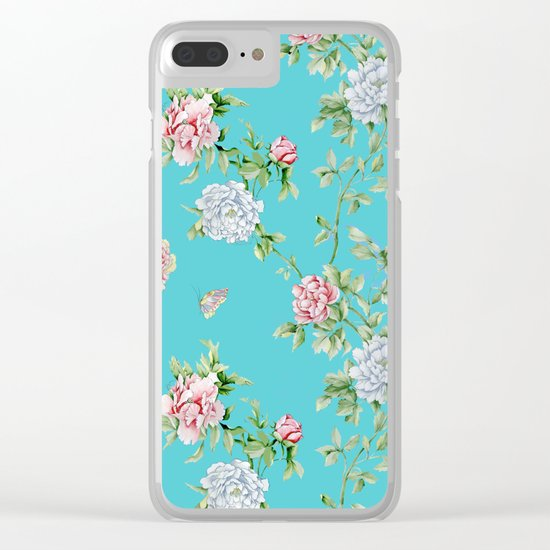 beatriz 1 Clear iPhone Case
