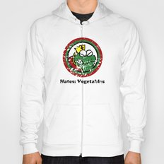 Hates: Vegetables (Battle Damage) Hoody