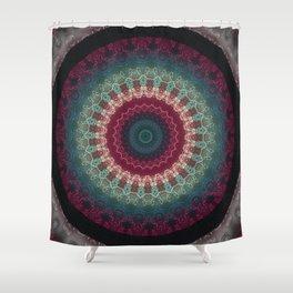 FineLine Mandala 5 Shower Curtain