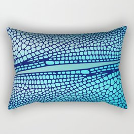 Wings of the dragon fly Rectangular Pillow