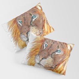 Colourful Lion Pillow Sham